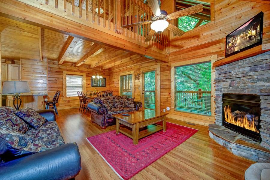 Pigeon Forge Cabins Southern Nights Cabin Southern Nights Hot Tub Outdoor