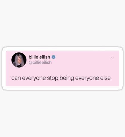 Billie Eilish Stickers