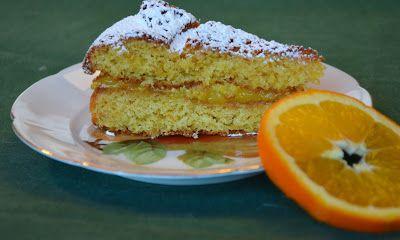 Giuli Foodie: Torta alla Crema d'Arancia