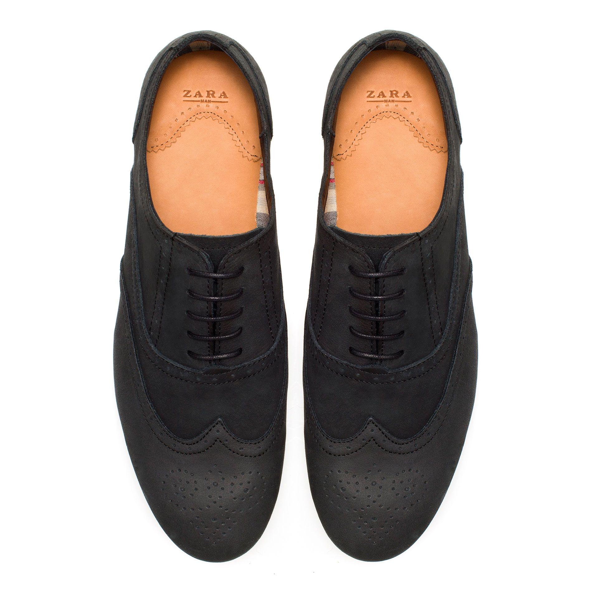 d5766efed9d9c Slim Zapatos Hombre Zara El Picados Salvador 88wqr6p