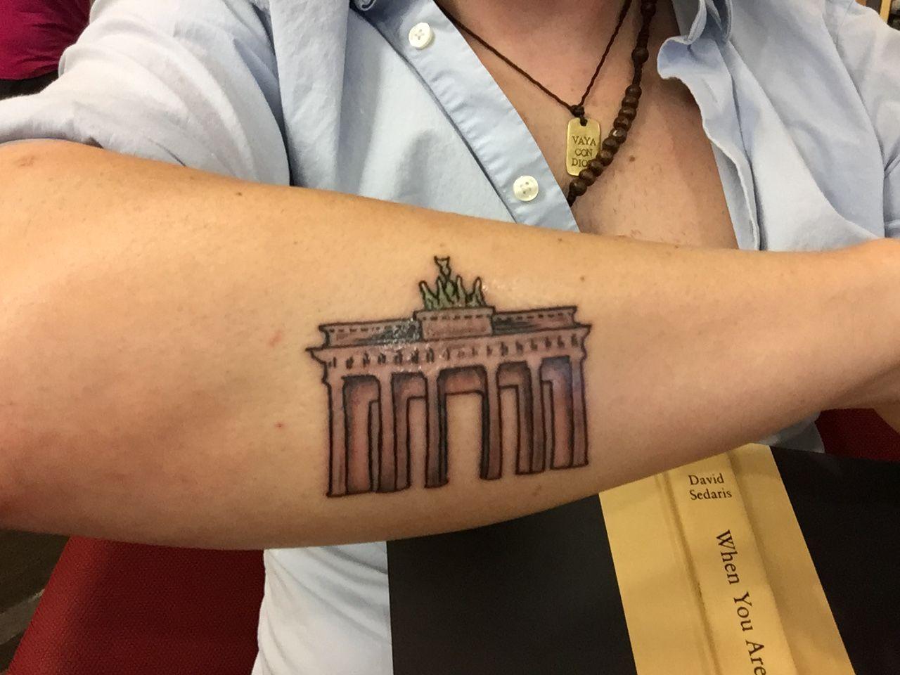 Brandenburg Gate Tattoo Tattoos Brandenburg Gate Triangle Tattoo
