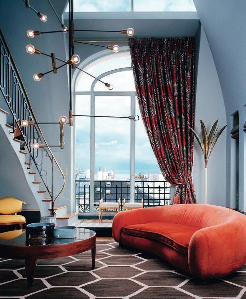 Nesta Semana Fiz O Segundo Modulo Do Curso De Design De Interiores Online Da Escola Brit Modern French Decor Contemporary Interior Design Contemporary Interior