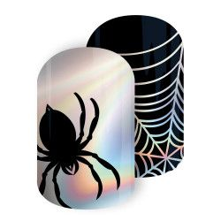 Creep It Real | Jamberry nails consultant, Halloween nails ...