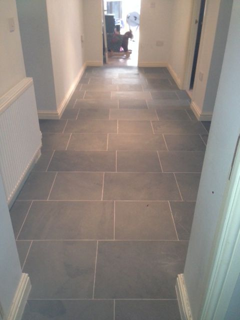 Image Result For Grey And White Tiles Hallway Hallway Flooring Limestone Flooring Tiled Hallway