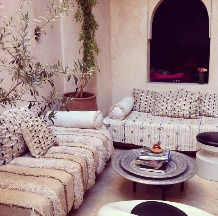 Marokkanisch Einrichten: Moroccan Wedding Blankets