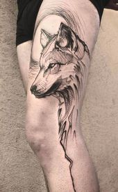 Photo of #wolf #tattoo #wolf #tattoo Dieses Bild hat 390 Wiederholungen. Autor: Carolin ….