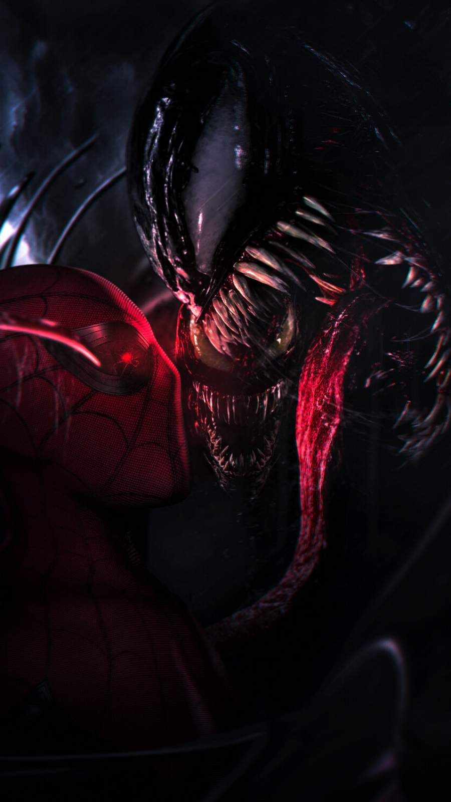 Spidey Vs Venom IPhone Wallpaper Cool backgrounds for