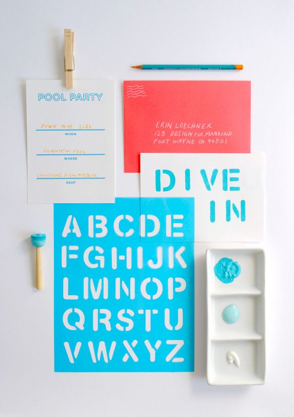 17 b sta bilder om DIY Party Invitations p Pinterest – Diy Party Invites