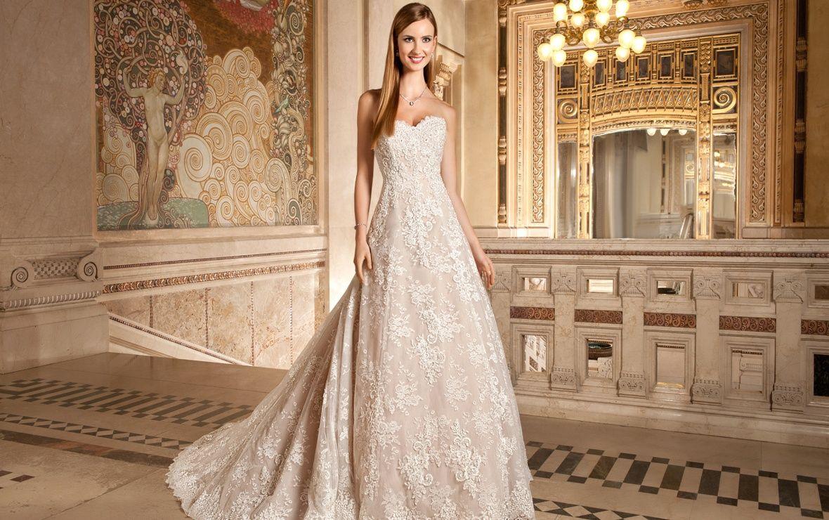 9d7b3485a1 Demetrios 2015 Wedding Dress Style 1495 $1501-$3000 (front) super pretty