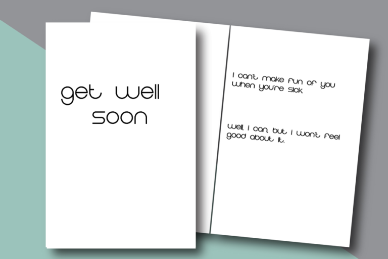 photograph relating to Free Printable Funny Get Well Cards titled Amusing, unusual Order Nicely Before long printable playing cards for relatives