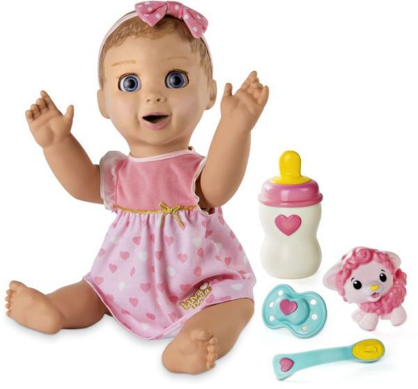 Luvabella Blonde Hair Doll Interactive Baby Dolls Baby