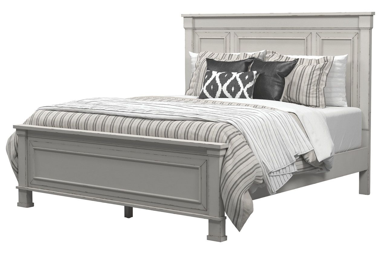 Jennily Queen Panel Bed Ashley Furniture Homestore White Panel