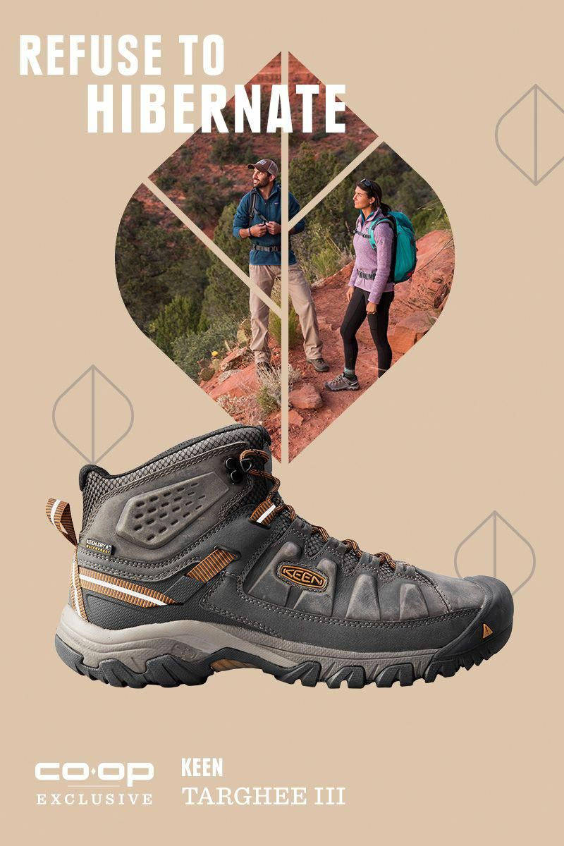 fd7ca34a2ad Men's KEEN Targhee III Mid WP Hiking Shoes Hiking in fall can be ...