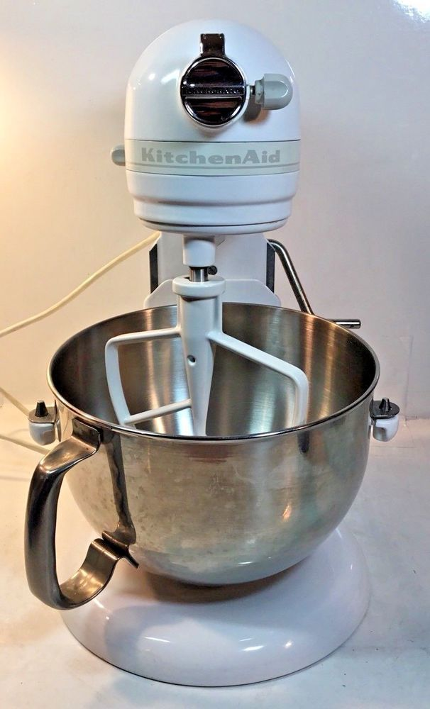 Kitchenaid Epicurean Mixer Kt2651xww White 475 Watts 6