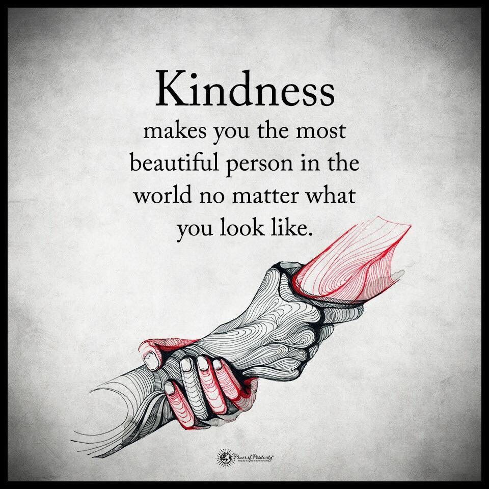 Power Of Positivity Images And Quotes: By Power Of Positivity Kindness Costs Nothing Judge A