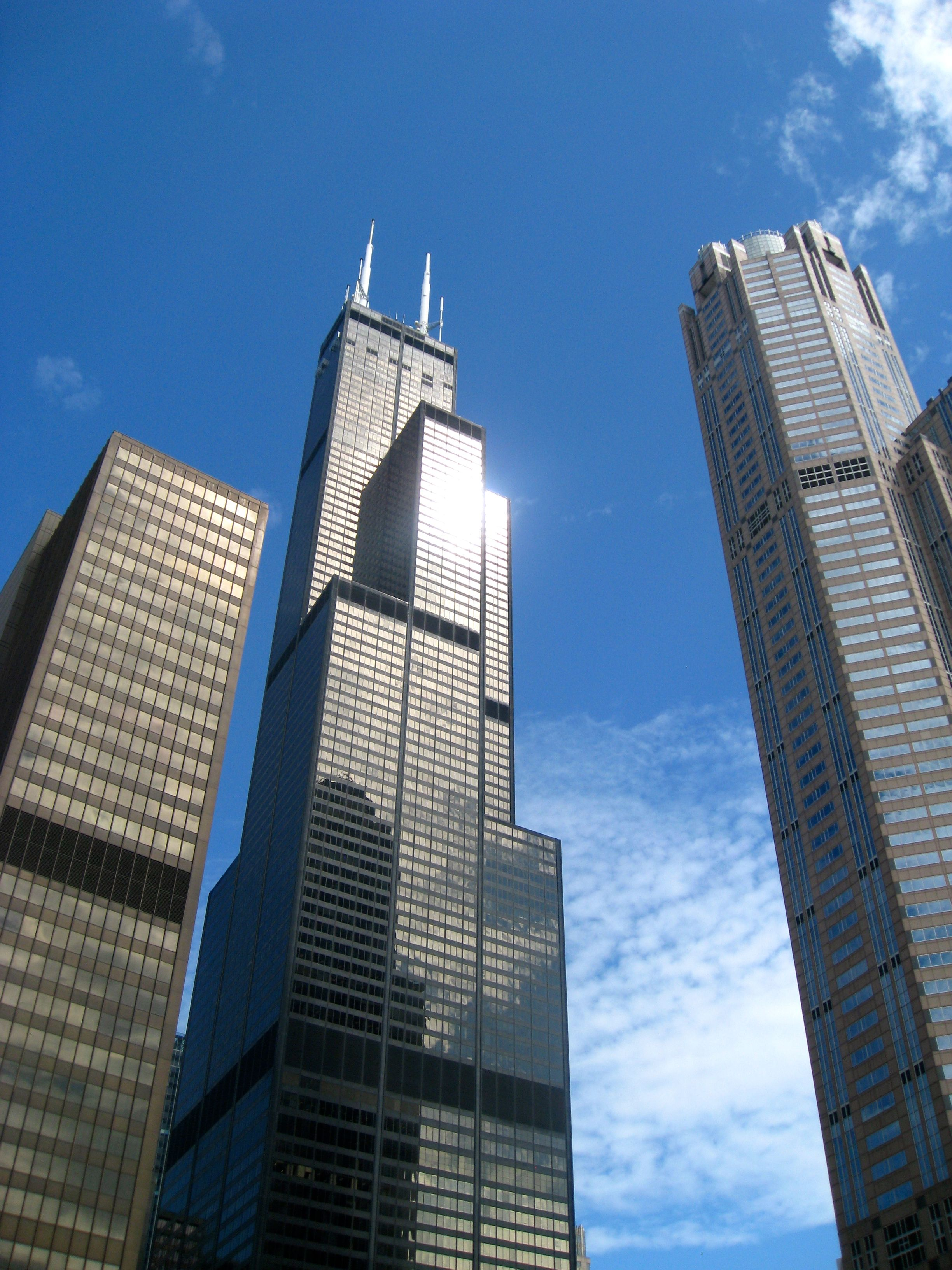 Sears Tower Willis Tower Architecture Chicago