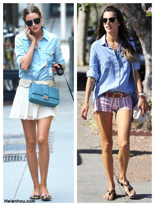 Chambray Shirt Refined Girly Or Tomboy Chic