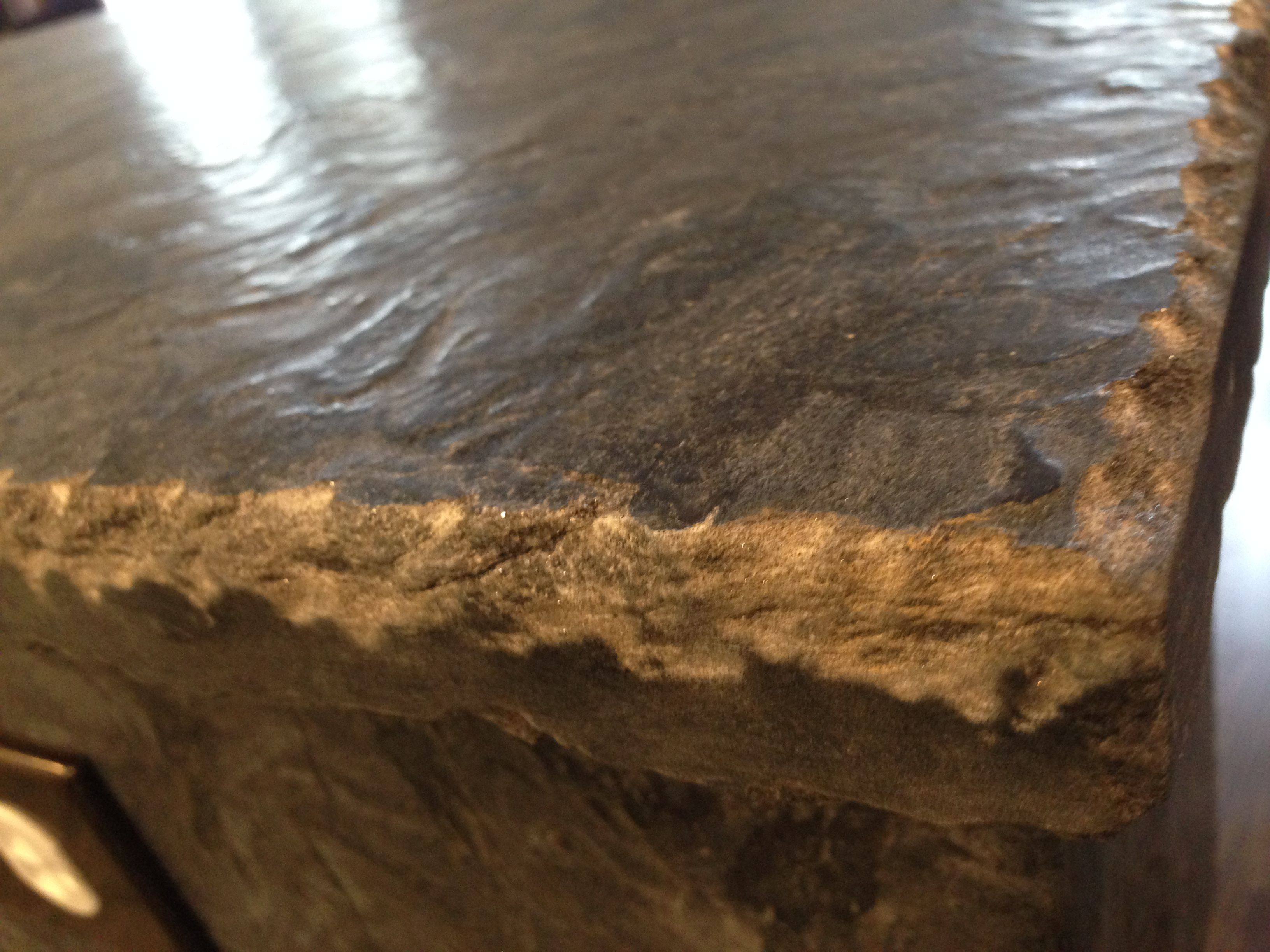 Raw Aka Rock Chip Aka Chiseled Edge Granite, Great For That Rustic  Farmhouse Counter Look