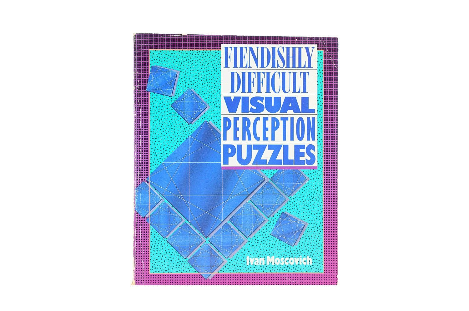 Book Perception Puzzles Ivan Moscovich Optical