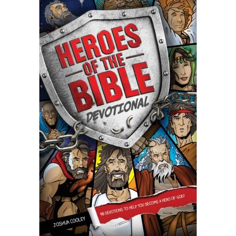 Heroes Of The Bible Devotional.  90 devotions about people in the Bible and their stories of triumph and failure...Joshua Cooley
