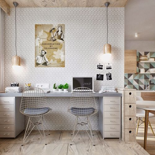 Inspiration déco petit appartement | Spaces, Interiors and Office spaces