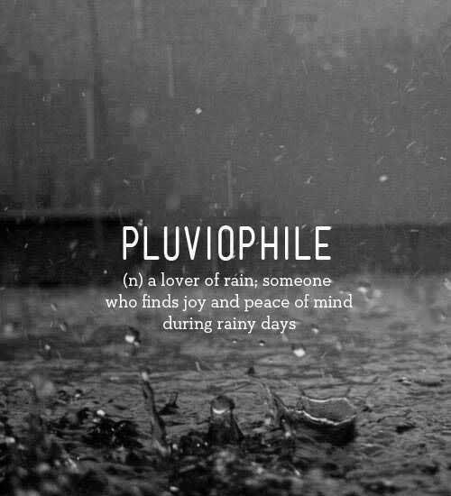 Pluvio phile
