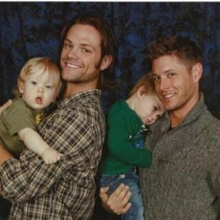 Jensen Ackles And Baby Thomas