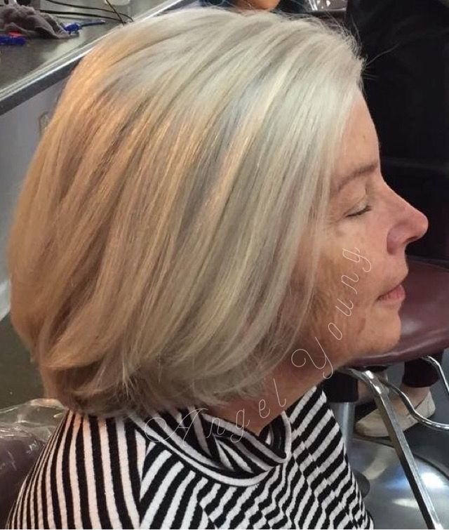Layered Bobs Are Beautiful Haircuts For Women Over 50 Hair By