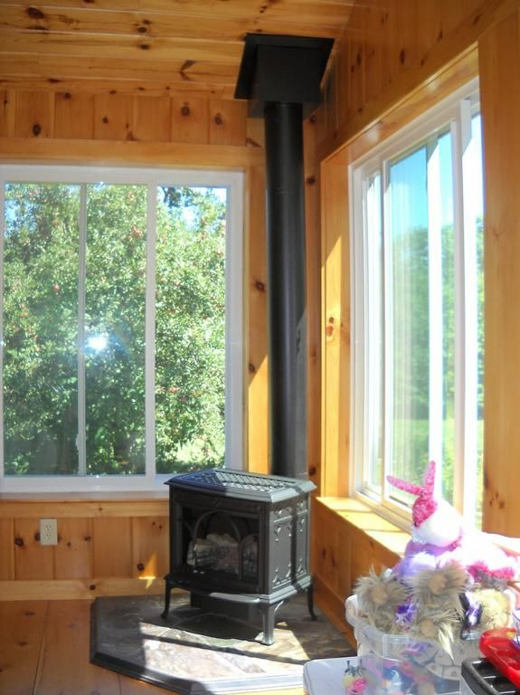 for Wood burning stove for screened porch