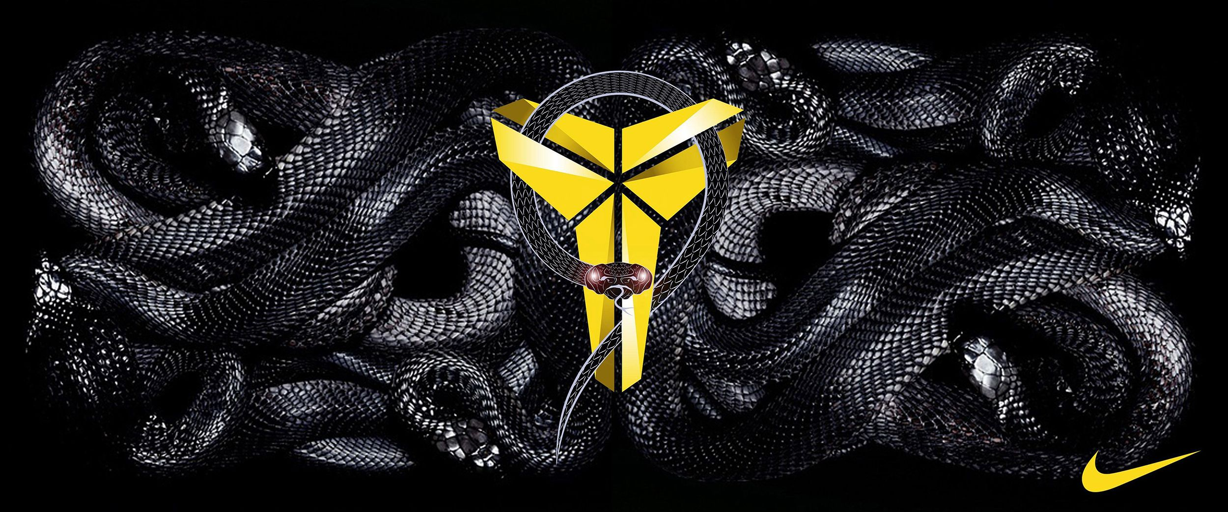 "The ""Black Mamba"" Logo What Does it Mean? in 2020 Kobe"