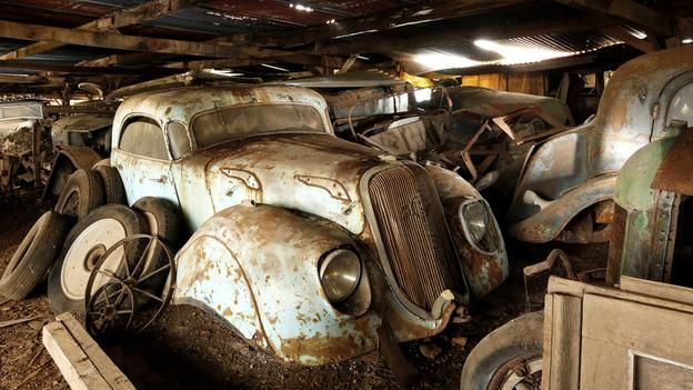 In France The Barn Find Of Century