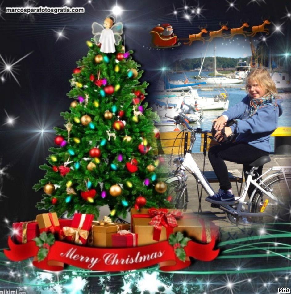 Charito Navidad Navidad Christmas Photomontage