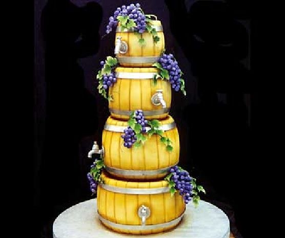 Wine cake That is so cool!