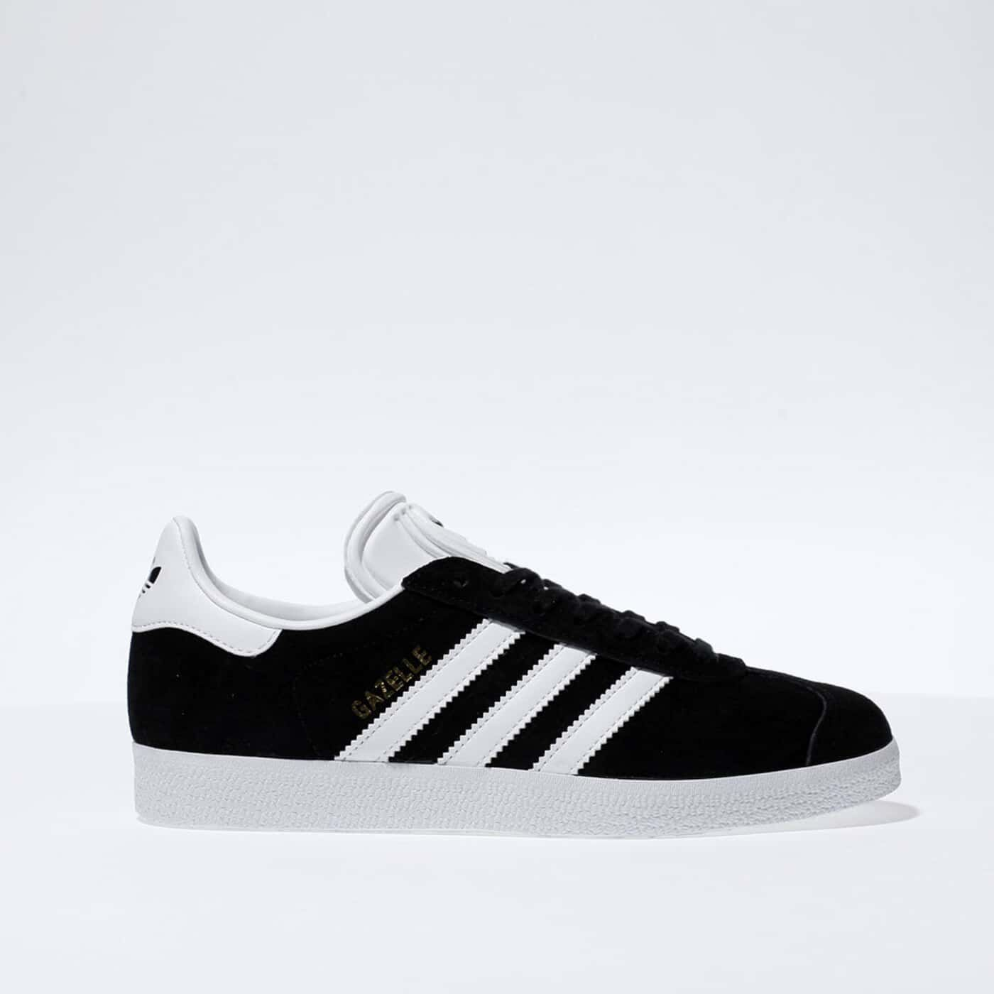 White adidas Gazelle Suede Trainers