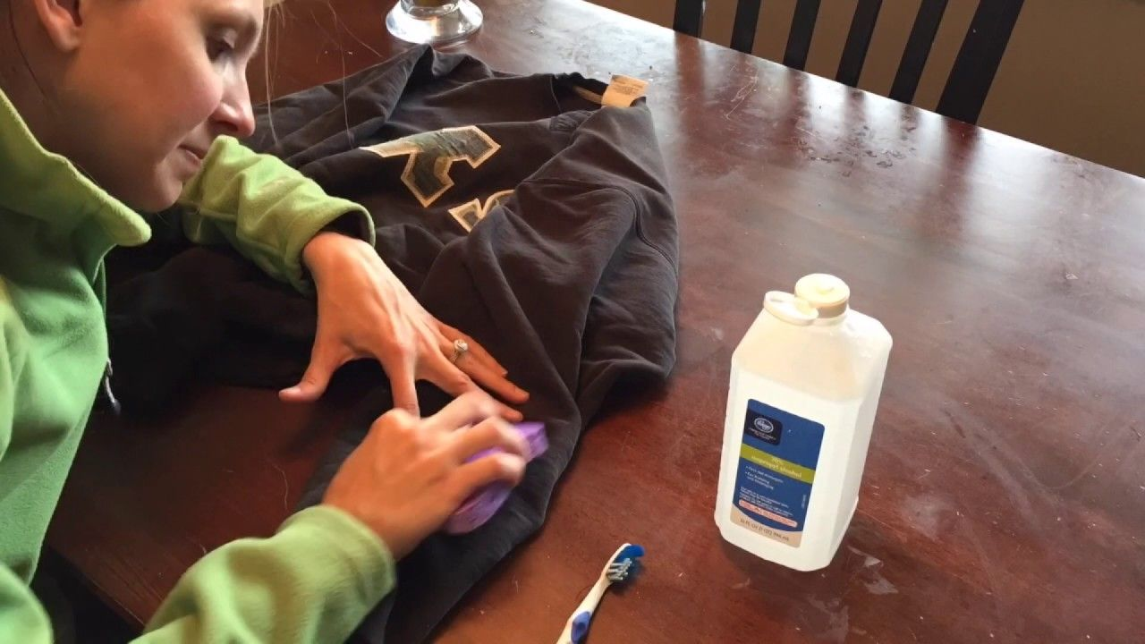 How to remove a paint stain from clothes easy diy