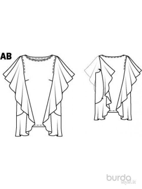 Shirt con volant - Shirt&Top - Donna - Shop & Cartamodelli Il mondo ...