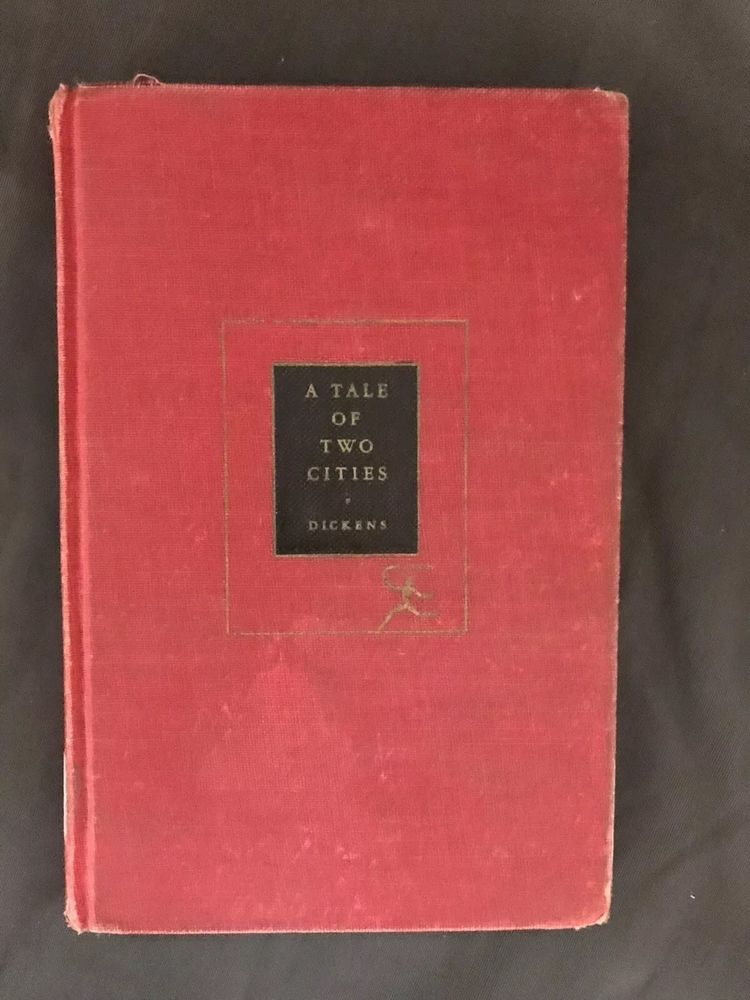 A Tale Of Two Cities By Charles Dickens Modern Library 1950