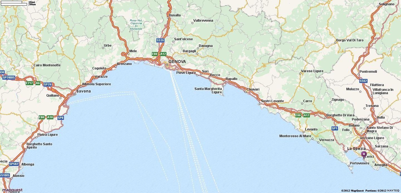 Map of lerici italy mapquest italia pinterest italy road map of lerici italy mapquest publicscrutiny Images