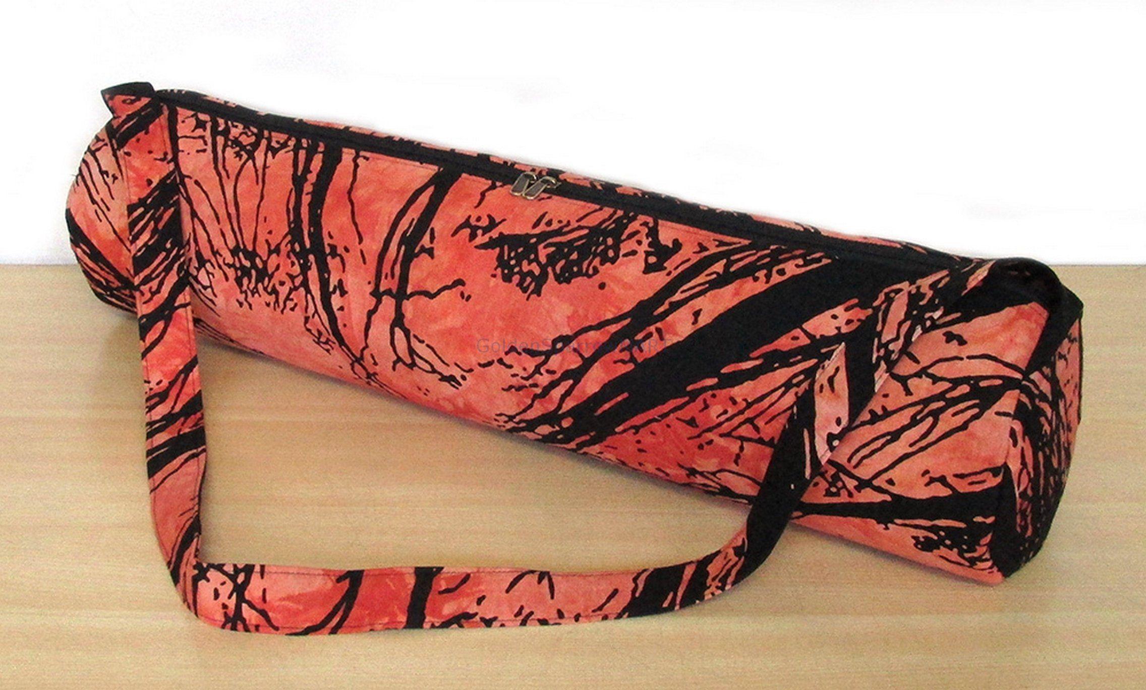 Etsy Shop New Astrology Indian Mandala Handmade Cotton Yoga Mat Bag Carry Beach Bags Hippie Gym Mat Carrier Sports Bags With Should Yoga Mat Bag Mat Bag Bags