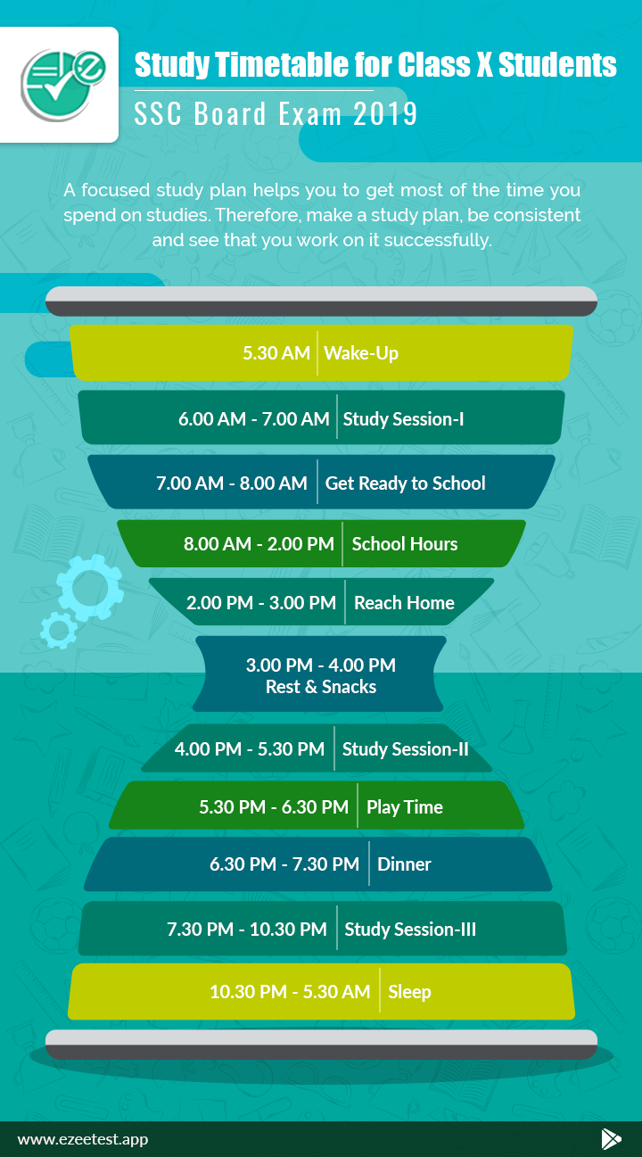 Time Table For Study For A Student At Home Every Student Should Plan A Good Time Table For Study Because It Is An Ea Study Time Table Study Study Tips College
