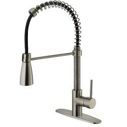 @Overstock - This Vigo pullout kitchen faucet is crafted of solid brass with a sleek stainless steel finish. The faucet includes a single-handle design with a spiral and dual-functioning pullout spray head.http://www.overstock.com/Home-Garden/Vigo-Stainless-Steel-Pullout-Spray-Kitchen-Faucet-with-Deck-Plate/6006659/product.html?CID=214117 Add to cart to see special price