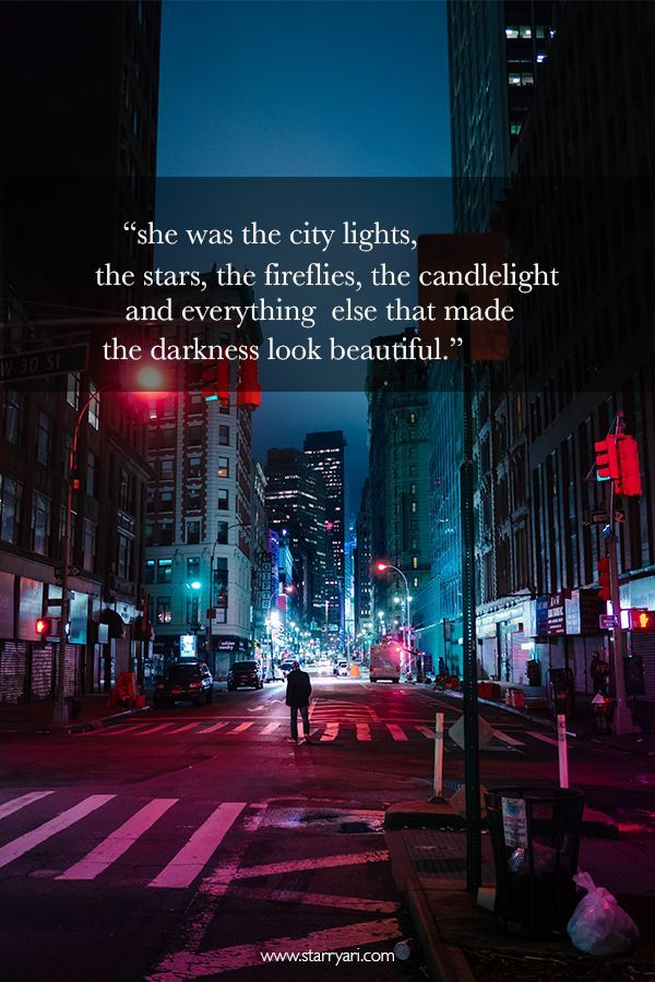 City Lights Quotes