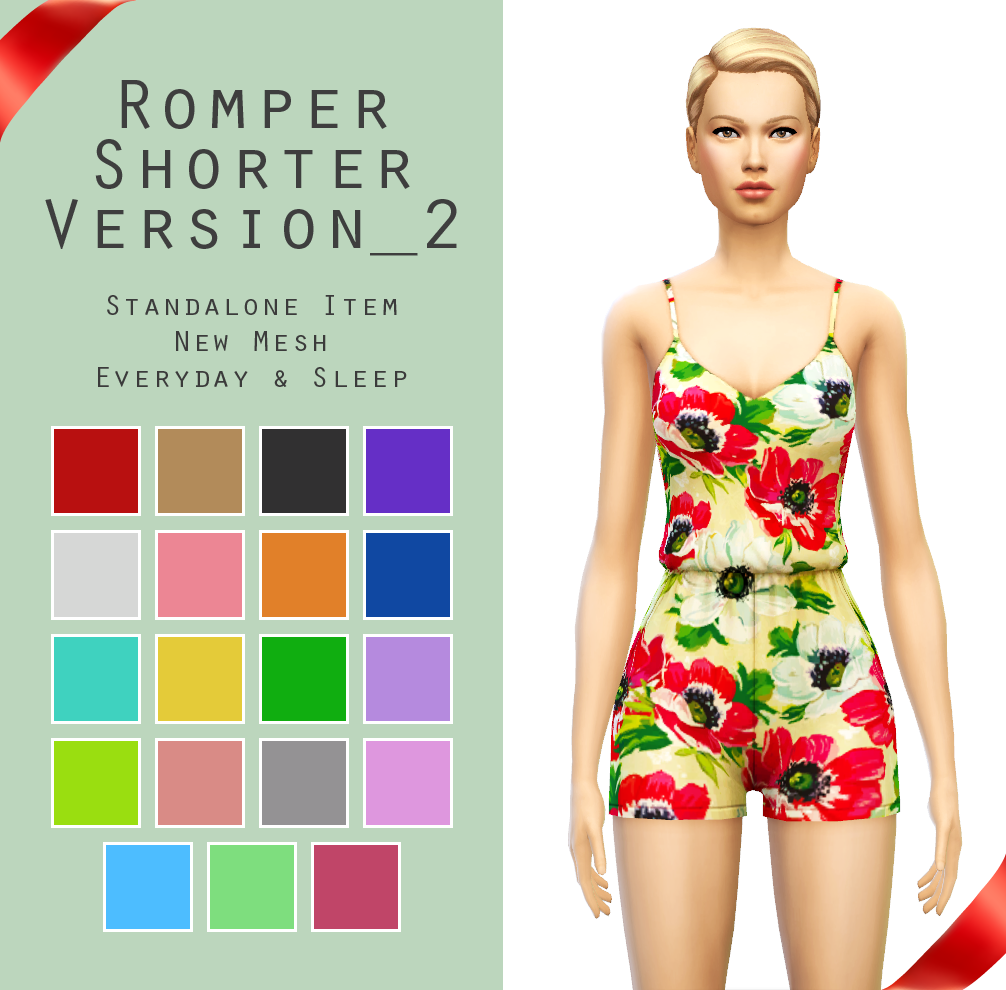 Sims 4 romper suit download Sims 4 clothing, Sims 4 blog