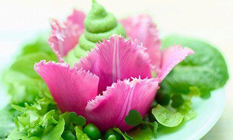 Tasty Tulips Flower Food Edible Flowers Tulips