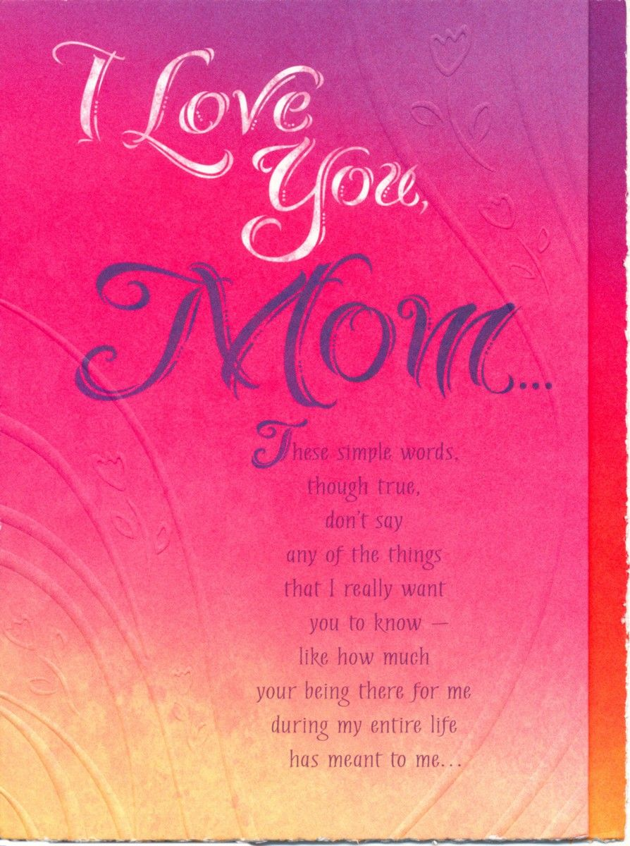 Mom Birthday Card Sayings http//www