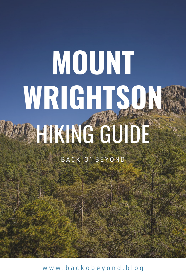 Mount Wrightson Hiking Guide Hiking Guide Hiking Guide