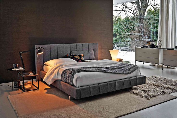 SLAAPKAMERS: Sfeervolle slaapkamer van Italiaans meubelmerk ...