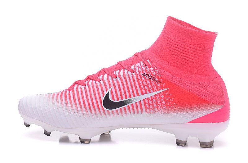 Nike Mercurial Superfly V Fg Racer Pink White Black Cheap Soccer Shoes Soccer Shoes Soccer Cleats Nike