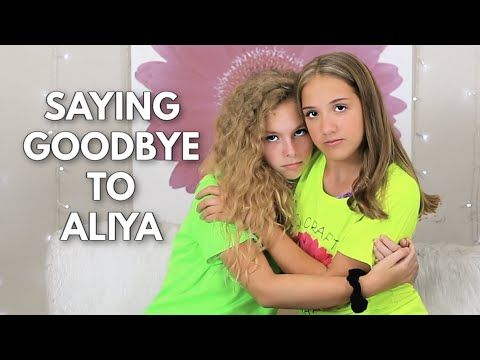 Saying Goodbye to my Best Friend 😢 Our Last Video with Aliya - YouTube