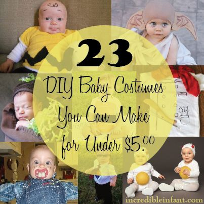 23 DIY Baby Costumes You Can Make for Under $5   Diy baby ...